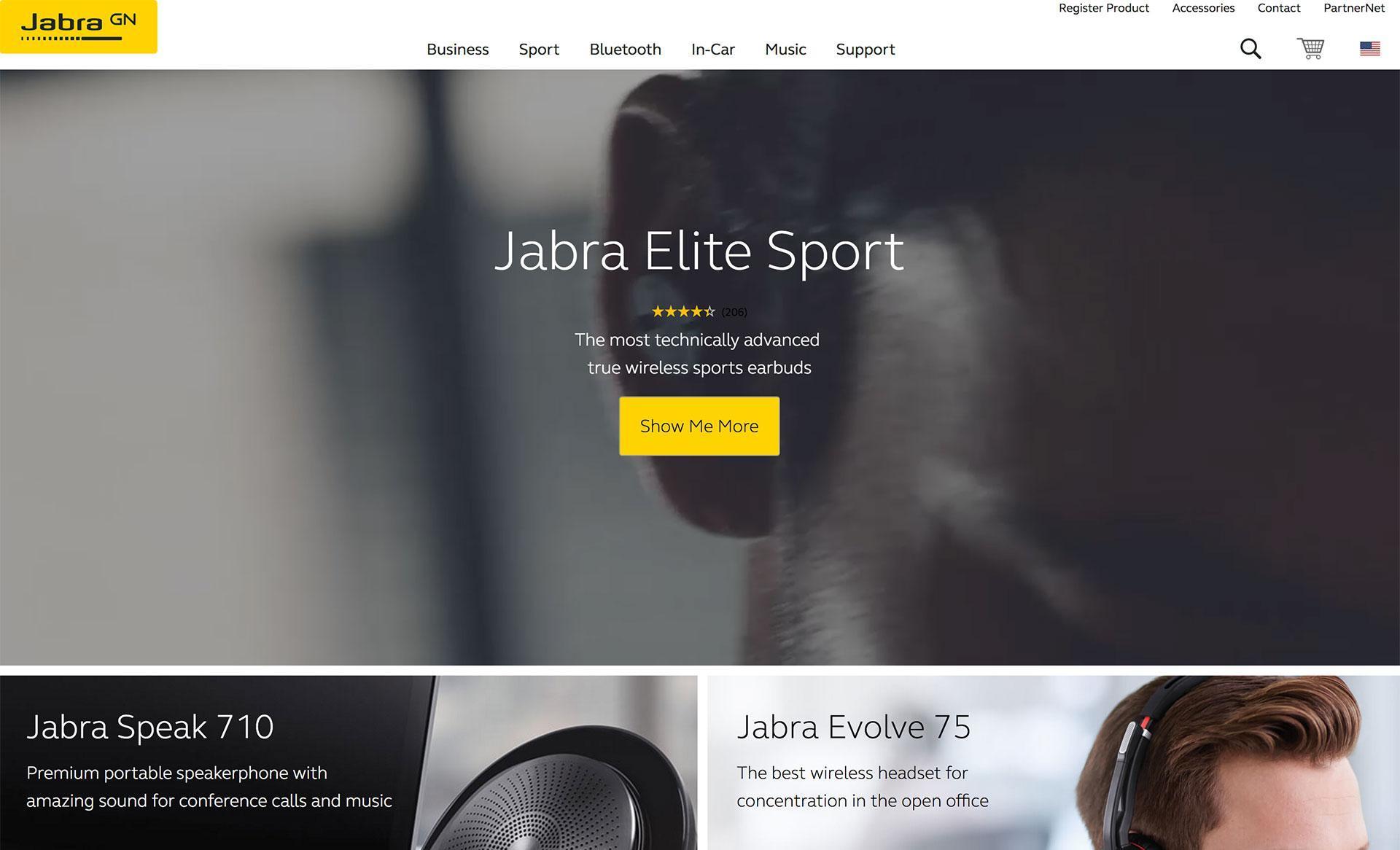 JABRA Bluetooth Earbuds